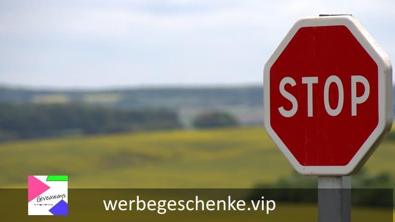 Werbemittel für Sicherheit im Straßenverkehr